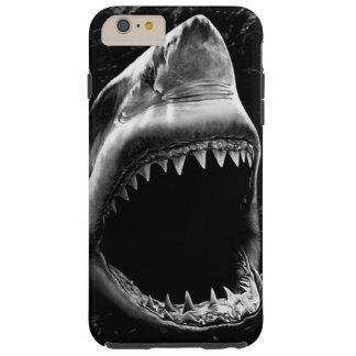 黒い鮫のiPhone6ケース Tough iPhone 6 Plus ケース