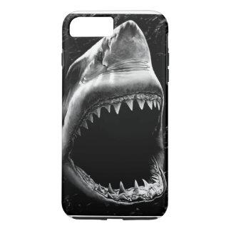 黒い鮫のiPhone 7の箱 iPhone 8 Plus/7 Plusケース