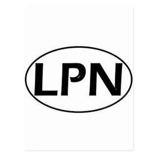 黒い黒LPN ポストカード