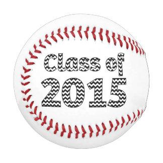 黒い2015及び白いシェブロンの野球のクラス 野球ボール