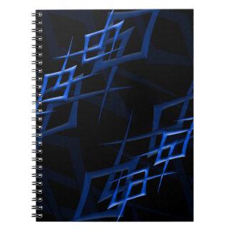 """黒い""""とげ""""のノートの青 ノートブック"""