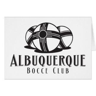 黒いABQのbocceクラブ カード