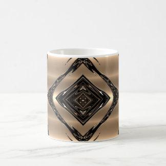 黒いBiamondのコーヒー・マグのギフト コーヒーマグカップ