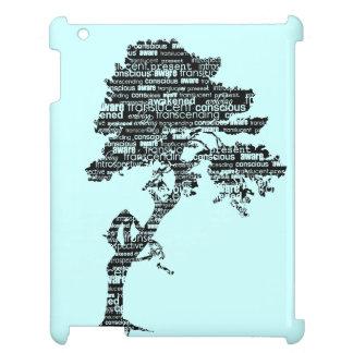 黒いBodhiの木のiPadの箱 iPadカバー
