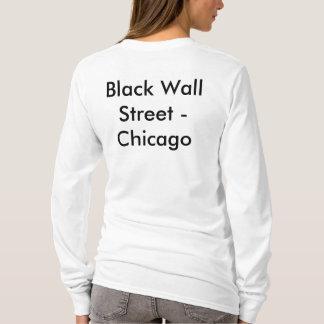 黒いBusineを支え、増加することのあなたの… Tシャツ
