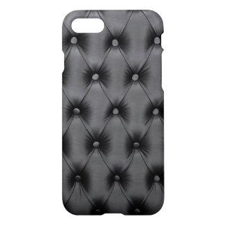 黒いcapitone、Chesterfild st.のiPhone7場合 iPhone 8/7 ケース