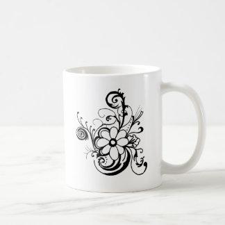 黒いdaisy.png コーヒーマグカップ
