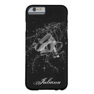 黒いiPhone6ケースのグランジなバレエシューズ Barely There iPhone 6 ケース