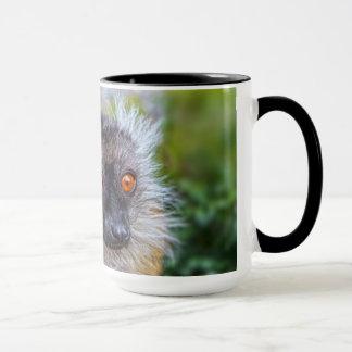 黒いlemurのマグ マグカップ