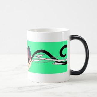黒いlemur モーフィングマグカップ