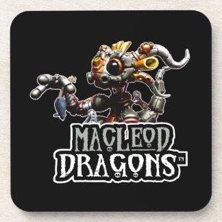 黒いMD Steampunkのドラゴン コースター