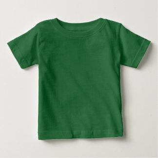 黒いnの緑のファッションのTシャツのコレクション ベビーTシャツ