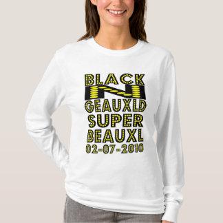 黒いN GEAUXLDニュー・オーリンズ Tシャツ