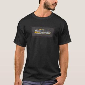 黒いTシャツと決め付けられるより多くのスロット Tシャツ