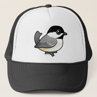 黒おおわれた《鳥》アメリカゴガラ キャップ
