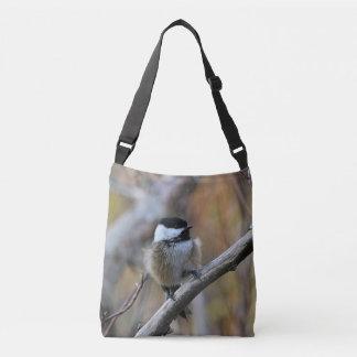 黒おおわれた《鳥》アメリカゴガラ クロスボディバッグ