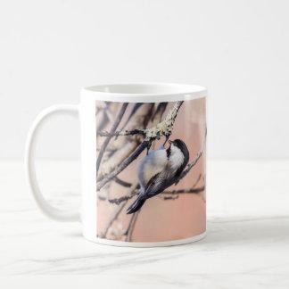 黒おおわれた《鳥》アメリカゴガラ コーヒーマグカップ