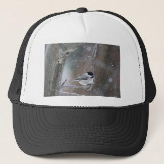 黒おおわれた《鳥》アメリカゴガラ-鳴き鳥 キャップ