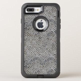 黒およびブラウンのスネークスキンパターン オッターボックスディフェンダーiPhone 8 PLUS/7 PLUSケース
