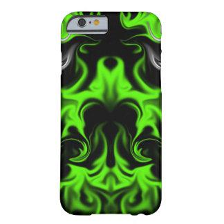 黒および緑 BARELY THERE iPhone 6 ケース