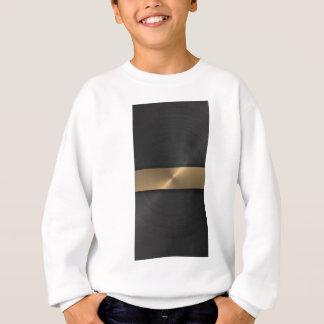 黒および金ゴールド スウェットシャツ