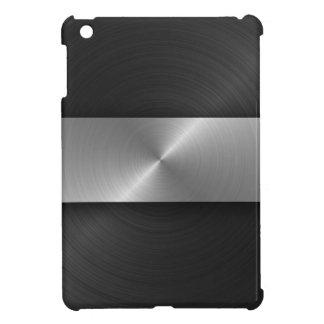 黒および鋼鉄 iPad MINIケース