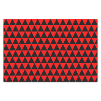黒くおよび赤い三角形 薄葉紙