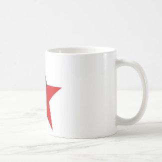 黒くおよび赤い星のAnarcho Syndicalismのアナキズム コーヒーマグカップ