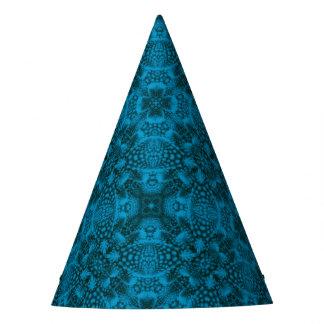 黒くおよび青のカスタマイズ可能なパーティーの帽子 パーティーハット