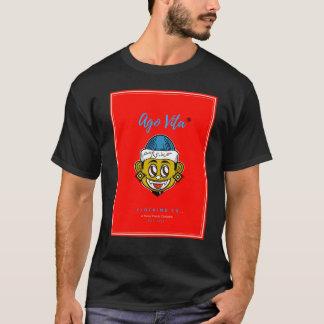 黒くか赤くモダンなスタイル前にVita (Tシャツ) Tシャツ