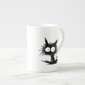 黒くだらしない子ネコGabiGabi ボーンチャイナカップ