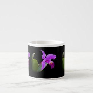 黒くカスタマイズ可能な専門のマグの蘭 エスプレッソカップ