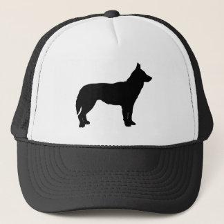 黒くハスキーな帽子 キャップ