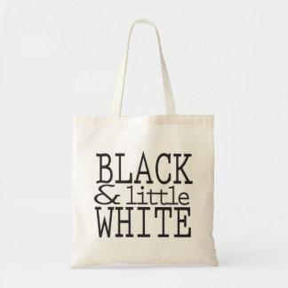 黒く及び少し白いトートバック トートバッグ