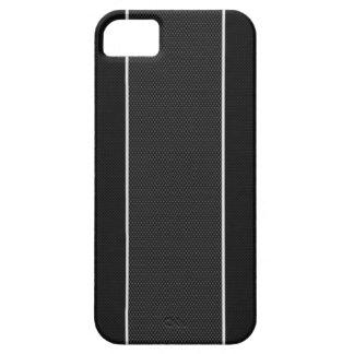 黒く及び白いカーボン繊維のiPhone 5の箱 iPhone SE/5/5s ケース