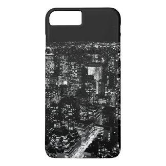 黒く及び白いニューヨークのiPhone 7の箱 iPhone 8 Plus/7 Plusケース