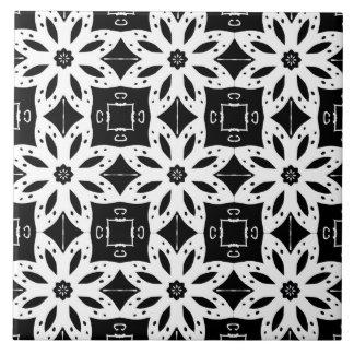 黒く及び白いパターン2 ~ タイル