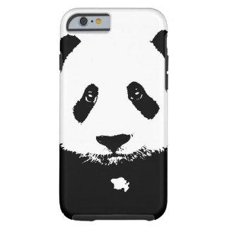 黒く及び白いパンダ ケース