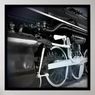 黒く及び白い列車 ポスター