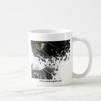 黒く及び白い猫 コーヒーマグカップ