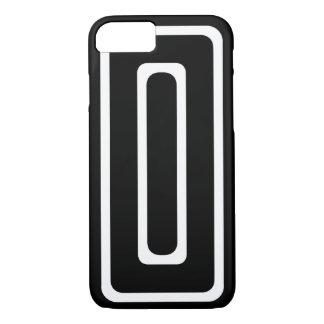 黒く及び白い繰り返す長方形のiPhone 7の箱 iPhone 8/7ケース