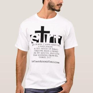 黒く及び白いEzekiel-3 Tシャツ