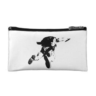 黒く及び白いSkydiving コスメティックバッグ