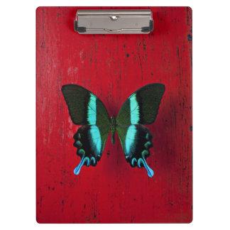 黒く及び青の蝶 クリップボード