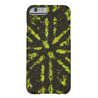 黒く及び黄色の破烈の箱 BARELY THERE iPhone 6 ケース