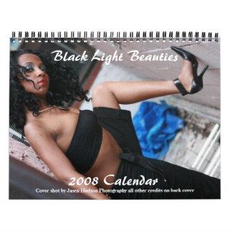 黒く軽い美しいのカレンダー カレンダー