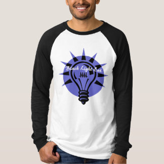 黒く軽いEnt L袖(ある調子を与えられる2) Tシャツ