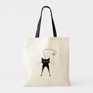 黒く風変わりな子猫6 トートバッグ