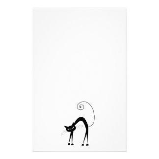 黒く風変わりな子猫9 便箋