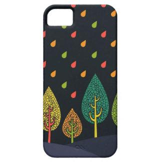 黒く、ネオン雨箱 iPhone SE/5/5s ケース